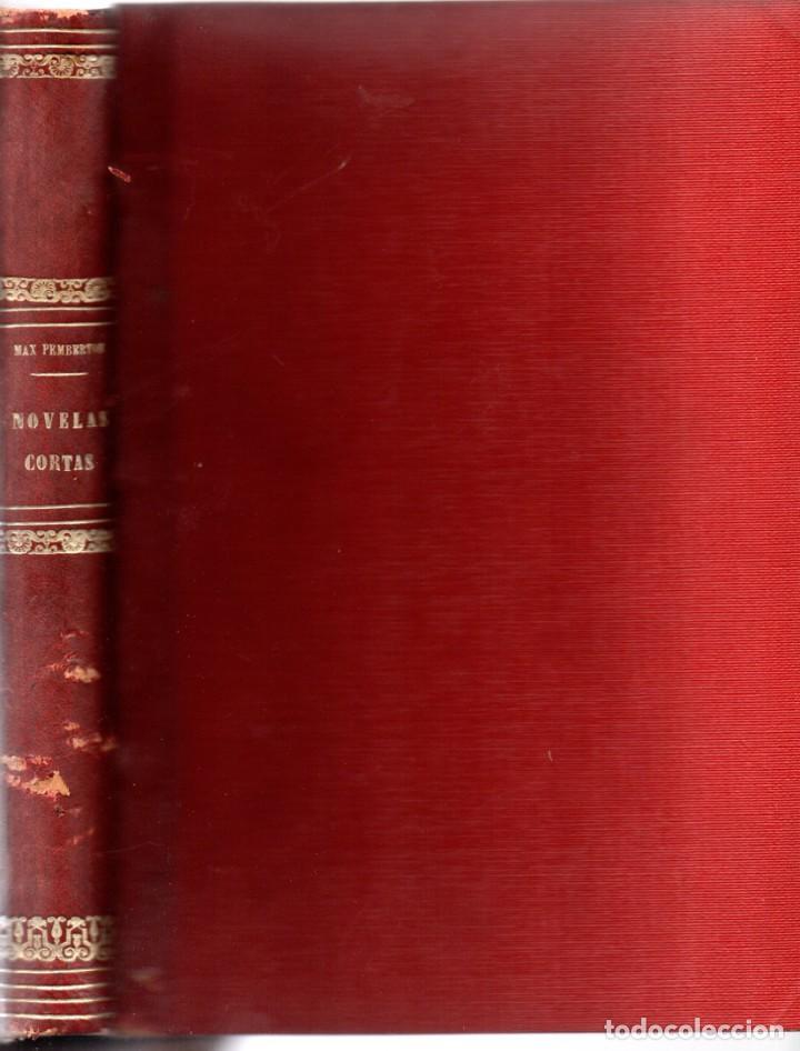 MAX PEMBERTON, NOVELAS DE TERROR Y MISTERIO - BIBLIOTECA ALREDEDOR DEL MUNDO 1899 (Libros antiguos (hasta 1936), raros y curiosos - Literatura - Terror, Misterio y Policíaco)