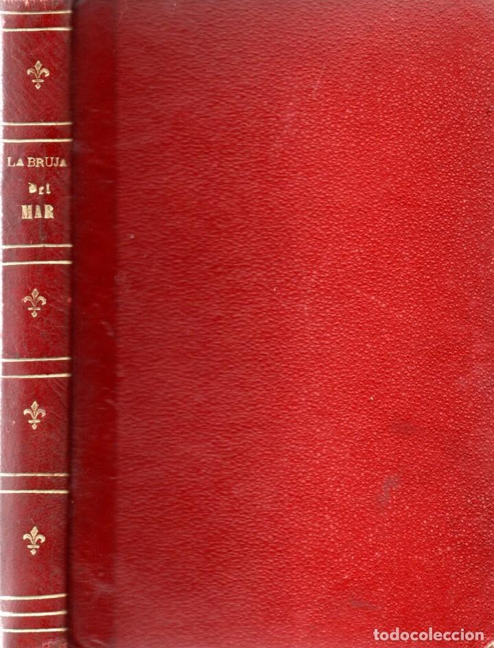 LA BRUJA DEL MAR - FENIMORE COOPER - D. J. F. SAENZ DE URRACA 1859 (Libros antiguos (hasta 1936), raros y curiosos - Literatura - Terror, Misterio y Policíaco)