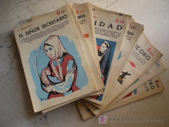 VEINTE REVISTAS LITERARIA NOVELAS Y CUENTOS. (Libros Antiguos, Raros y Curiosos - Literatura Infantil y Juvenil - Novela)