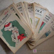 Libros antiguos: DIECINUEVE REVISTAS LITERARIA NOVELAS Y CUENTOS.. Lote 26946931