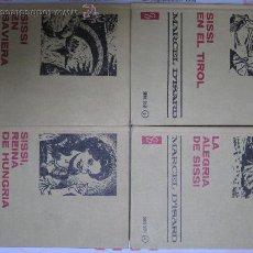 Libros antiguos: CUATRO OBRAS DE SISSI. OFERTA!!. Lote 17853637
