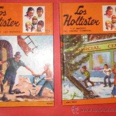Libros antiguos: DOS CLÁSICOS DE JERRY WEST: LOS HOLLISTER. Lote 17854042