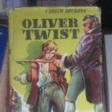 Libros antiguos: OLIVER TIWIST. CARLOS DICKENS. EDITORIAL MATEU. 287 PÁGINAS. AÑOS 50.SOBRECUBIERTA FATIGADA. Lote 24371573