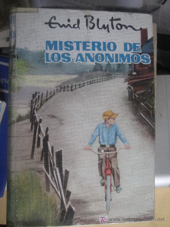MISTERIO DE LOS ANONIMOS. ENID BLYTON. SERIE AVENTURA, Nº 23. EDITORIAL MOLINO, 1960. 1ª EDICION. (Libros Antiguos, Raros y Curiosos - Literatura Infantil y Juvenil - Novela)