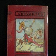 Libros antiguos: LIBRO. DON QUICHOTTE. CERVANTES. 1933.. Lote 19276310