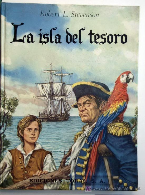 LA ISLA DEL TESORO (Libros Antiguos, Raros y Curiosos - Literatura Infantil y Juvenil - Novela)