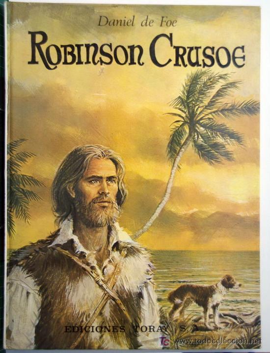 ROBINSON CRUSOE (Libros Antiguos, Raros y Curiosos - Literatura Infantil y Juvenil - Novela)