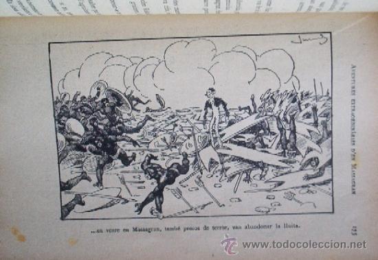 Libros antiguos: AVENTURES EXTRAORDINARIES DEN MASSAGRAN - JOSEP Mª FOLCH TORRES - AÑO 1933 - Foto 5 - 25735027