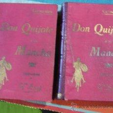 Libros antiguos: EL INGENIOSO HIDALGO HIDALGO DON QUIJOTE DE LA MANCHA.2 TOMOS. Lote 22068789