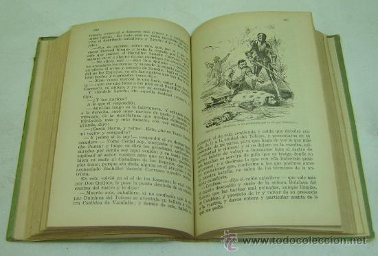 Libros antiguos: DON QUIJOTE DE LA MANCHA-EDICION PARA NIÑOS-DALMAU CARLES PLA-GERONA 1931- - Foto 3 - 28325294