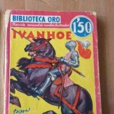 Libros antiguos: IVANHOE. WALTER SCOTT. ED. MOLINO. 1935. Lote 26180125