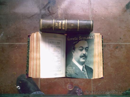LA NOVELA SEMANAL 14 TOMOS (100 NOVELAS APROX) AÑOS 20 (Libros Antiguos, Raros y Curiosos - Literatura Infantil y Juvenil - Novela)