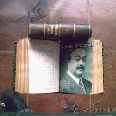Libros antiguos: LA NOVELA SEMANAL 14 TOMOS (100 NOVELAS APROX) AÑOS 20. Lote 26225262
