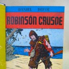 Libros antiguos: LIBRO, ROBINSON CRUSOE, DANIEL DEFOE,COLECCION REYES MAGOS, EDICIONES MAUCCI. Lote 26360118