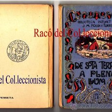 Libros antiguos: DE SOTA TERRA A PLENA LLUM / DRAMA A SOTA TERRA FOLCH I TORRES, J. Mª. ILUST. X LLAVERIAS. 2 VLS. Lote 26395263