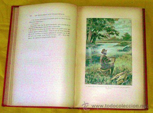 Libros antiguos: JULES VERNE .. LE TESTAMENT D'UN EXCENTRIQUE . 1899 HETZEL - Foto 2 - 27073865