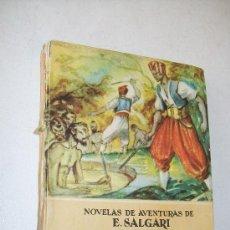 Libros antiguos: COLECCIÓN NOVELAS DE AVENTURAS DE E. SALGARI, Nº.40: EL LEÓN DE DAMASCO-S/F. EDT: SATURNINO CALLEJA. Lote 27482923