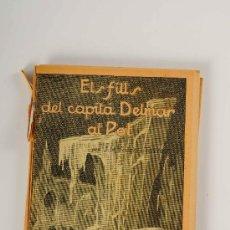 Libros antiguos: LIBRO ELS FILLS DEL CAPITÀ DELMAR AL POL DE JOSEP Mª FOLCH I TORRES, - BIBL. PATUFET VOL. XX. Lote 27350700