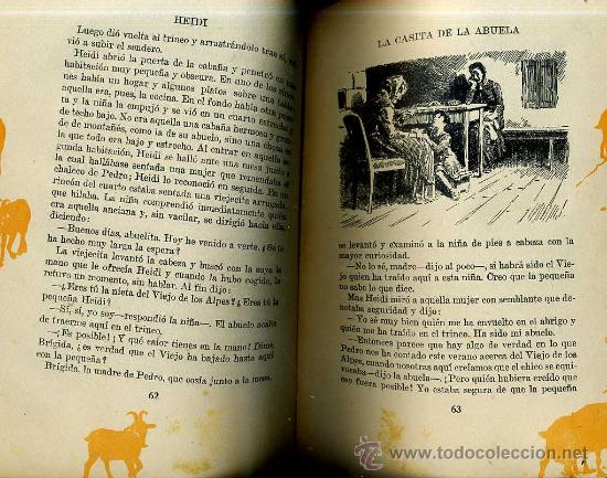 Libros antiguos: JUANA SPIRY : HEIDI (1931) EDICIÓN DE LUJO - Foto 2 - 119946210