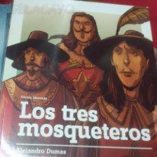 Libros antiguos: LOS TRES MOSQUETEROS - ALEJANDRO DUMAS - EDIC. ABREVIADA E ILUSTRADA. Lote 28623020