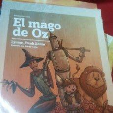 Libros antiguos: EL MAGO DE OZ - LYMAN FRANK BAUM - EDIC. ABREVIADA E ILUSTRADA. Lote 28623110