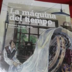 Libros antiguos: LA MAQUINA DEL TIEMPO - HERBERT GEORGE WELLS - EDIC. ABREVIADA E ILUSTRADA. Lote 28623134