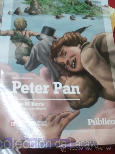 PETER PAN - JAMES MATTHEW BARRIE - EDIC. ABREVIADA E ILUSTRADA (Libros Antiguos, Raros y Curiosos - Literatura Infantil y Juvenil - Novela)