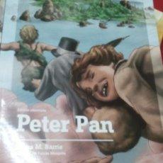 Libros antiguos: PETER PAN - JAMES MATTHEW BARRIE - EDIC. ABREVIADA E ILUSTRADA. Lote 28623155
