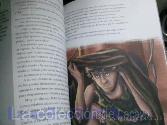 Libros antiguos: PETER PAN - JAMES MATTHEW BARRIE - EDIC. ABREVIADA E ILUSTRADA - Foto 4 - 28623155