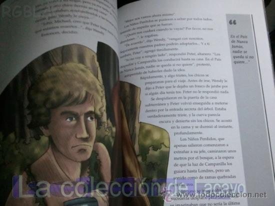 Libros antiguos: PETER PAN - JAMES MATTHEW BARRIE - EDIC. ABREVIADA E ILUSTRADA - Foto 6 - 28623155
