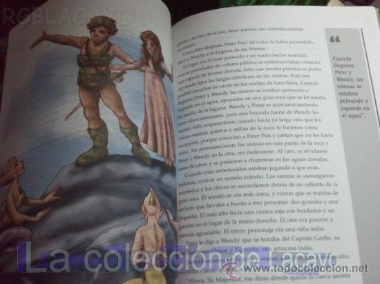 Libros antiguos: PETER PAN - JAMES MATTHEW BARRIE - EDIC. ABREVIADA E ILUSTRADA - Foto 7 - 28623155