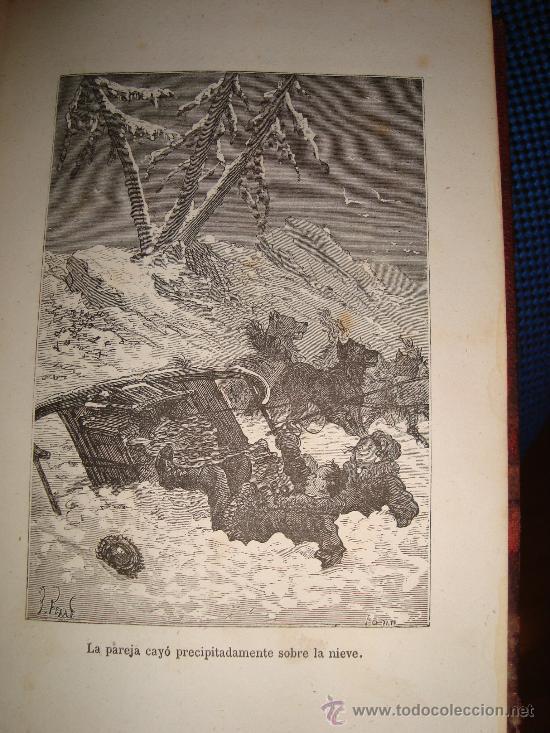 Libros antiguos: (167)EL PAIS DE LAS PIELES - 2 TOMOS EN UNO - - Foto 4 - 29828902