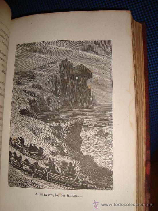 Libros antiguos: (167)EL PAIS DE LAS PIELES - 2 TOMOS EN UNO - - Foto 5 - 29828902