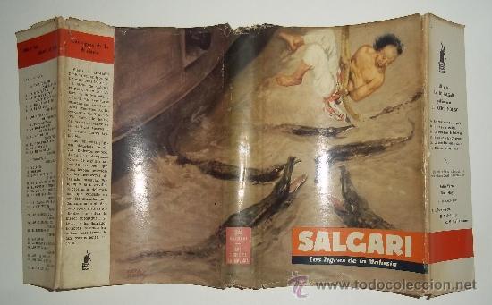 Libros antiguos: los tigres de la malasia. emilio salgari. Ed. Molino. 1955 - Foto 3 - 31422616
