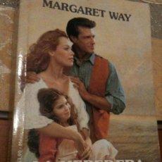 Libros antiguos: LA HEREDERA- MARGARET WAY TAPA BLANDA. Lote 151361200