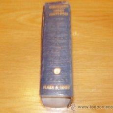Libros antiguos: W.SOMERSET MAUGHMAM--OBRAS COMPLETAS TOMOS .1-. Lote 31625063