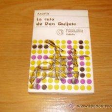 Libros antiguos: LA RUTA DE DON QUIJOTE--AZORIN.. Lote 31625636