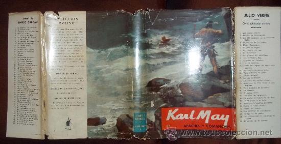 Libros antiguos: Apaches y Comanches. Karl May. Ed. Molino 1960 nº3 - Foto 4 - 31698422
