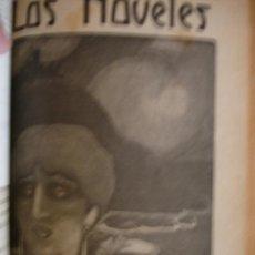 Libros antiguos: LOTE 12 NÚMEROS DE LA COLECCION LOS NOVELES (1916) - CON TAPA ORIGINAL DE ÉPOCA UN TOMO. Lote 31923132