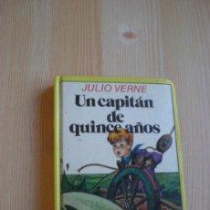 Libros antiguos: UN CAPITAN DE QUINCE AÑOS. JULIO VERNE. CON VARIAS ILUSTRACIONES EN BLANCO Y NEGRO. Lote 32193504