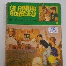 Libros antiguos: LA FAMILIA BOBBSEY. Nº 6. EL MISTERIO DE LA POSADA.. Lote 158971096