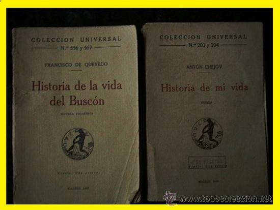 COLECCIÓN UNIVERSAL QUEVEDO CHEJOV AÑOS 20 (Libros Antiguos, Raros y Curiosos - Literatura Infantil y Juvenil - Novela)