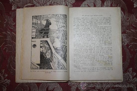 Libros antiguos: 0849- LOTE DE 8 NOVELAS DE LA BIBLIOTECA PATUFET - VOLUMENES 19, 20, 31, 32, 35, 36, 37 Y 38 - Foto 5 - 32341753