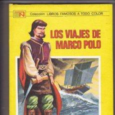 Libros antiguos: LOS VIAJES DE MARCO POLO EDITORIAL NOVARO ILUSTRADO POR PEDRO ALFEREZ. Lote 32403795