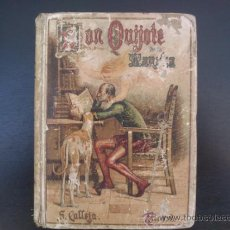 Libros antiguos: DON QUIJOTE DE LA MANCHA (---CALLEJA ---AÑO 1905). Lote 32823226