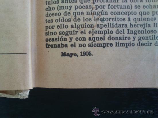 Libros antiguos: DON QUIJOTE DE LA MANCHA (---CALLEJA ---AÑO 1905) - Foto 8 - 32823226