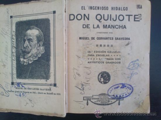 Libros antiguos: DON QUIJOTE DE LA MANCHA (---CALLEJA ---AÑO 1905) - Foto 7 - 32823226