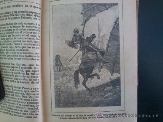 Libros antiguos: DON QUIJOTE DE LA MANCHA (---CALLEJA ---AÑO 1905) - Foto 4 - 32823226