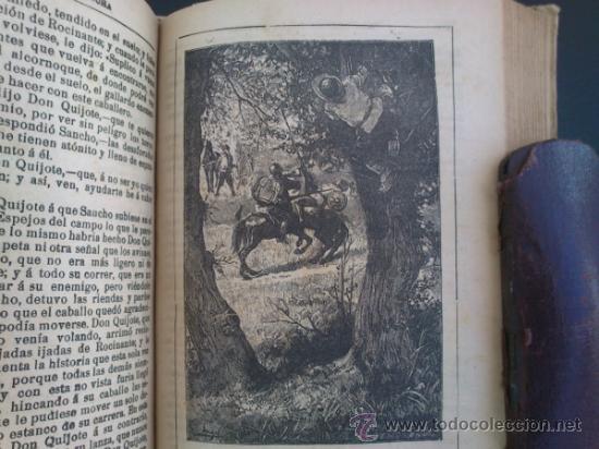 Libros antiguos: DON QUIJOTE DE LA MANCHA (---CALLEJA ---AÑO 1905) - Foto 3 - 32823226