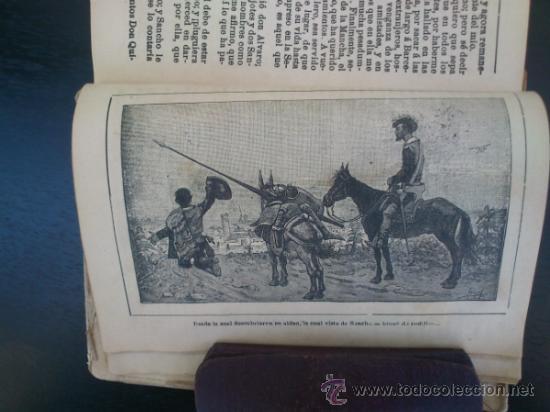 Libros antiguos: DON QUIJOTE DE LA MANCHA (---CALLEJA ---AÑO 1905) - Foto 2 - 32823226
